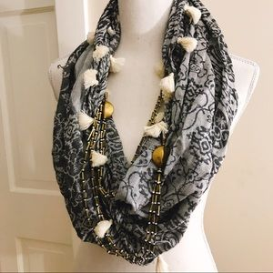 Accessories - Infinity scarf- multi style